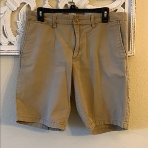 Men's Old Navy Flat Front Slim Fit Khaki Shorts